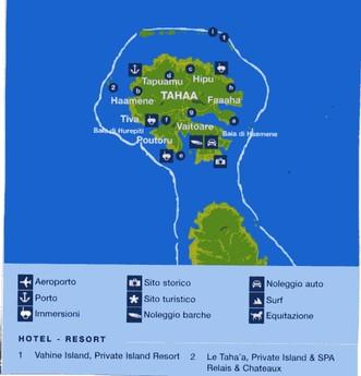 Tahaa - Polinesia Francese - Oceania - Aternum Viaggi - Tour